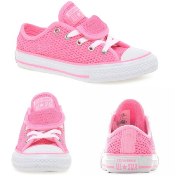 CONVERSE All Star Double Tongue Girls Sneaker Pink NWT